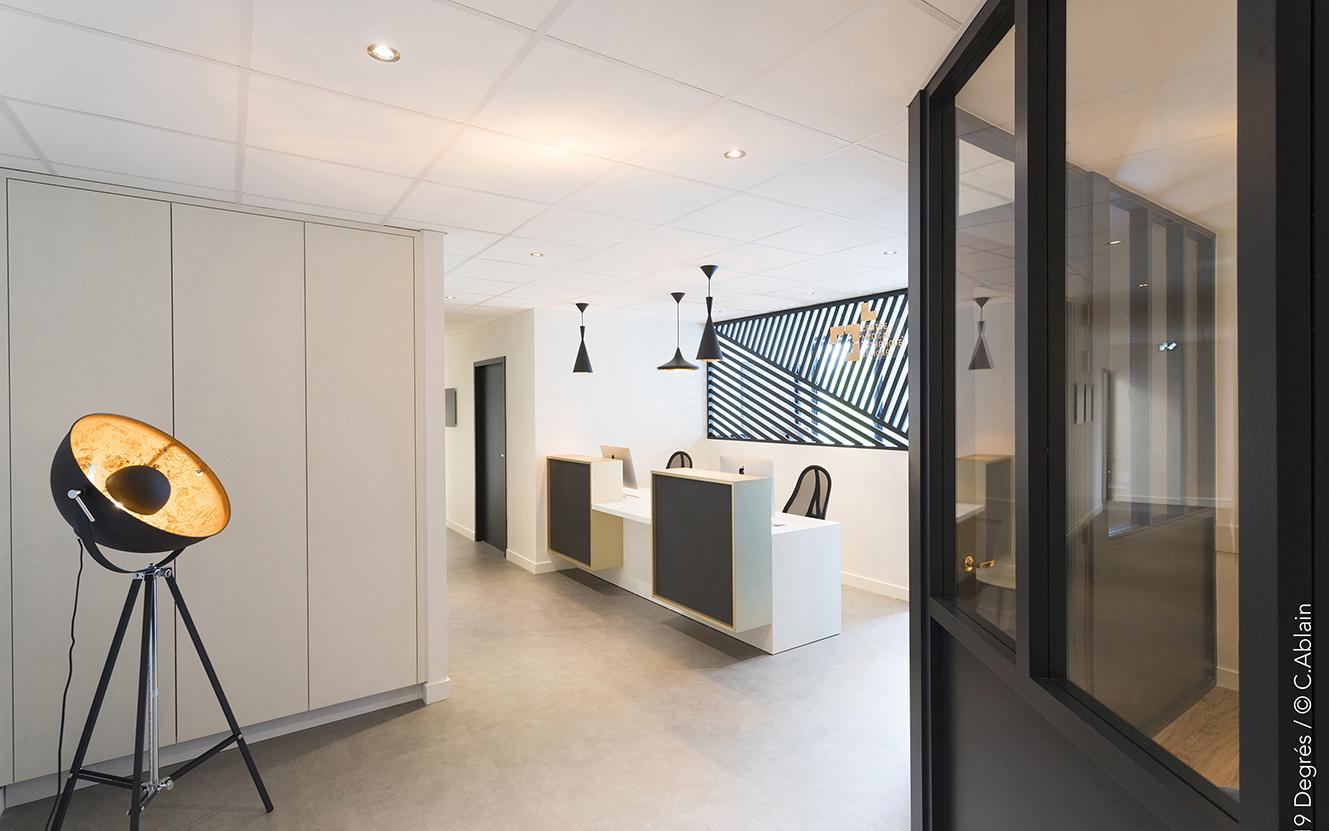 Installation d'un cabinet de chirurgie esthétique - Cesson-Sévigné